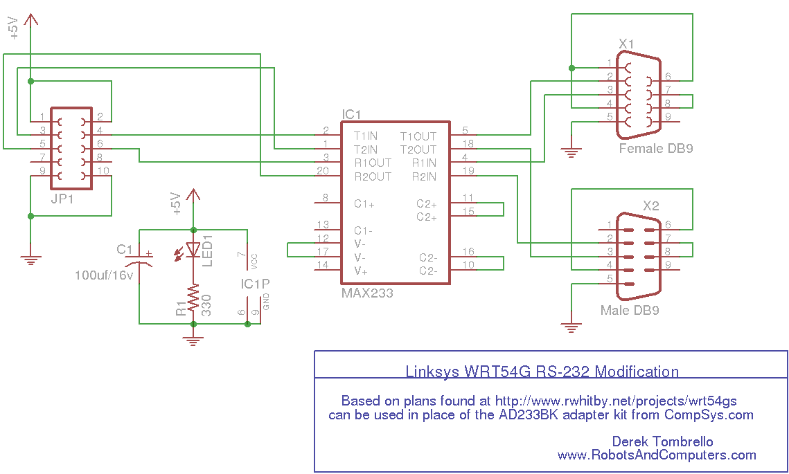 robot division linksys rs 232 adapter rh robotsandcomputers com 3-Way Switch Wiring Diagram 3-Way Switch Wiring Diagram
